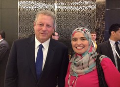 Mr. Al Gore; the 45th Vice President of the United States of America