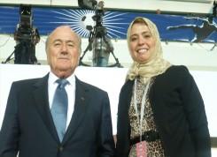 Joseph Blatter; FIFA President