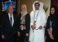 Mr Joseph Blatter & HE Mohammed Khalfan Al Romaithi