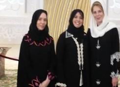 Queen Noor of Jordan & Princess Raiyah bint Al Hussein